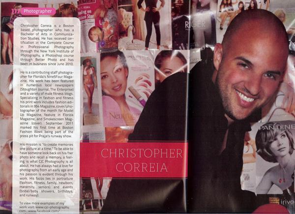 954 Magazine, Photographer Feature, CJC Photography, Boston, Florida