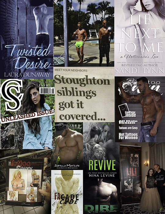 CJC Photography, Boston, book cover photographer, Twisted Desire, Stoughton Journal, Barnes and Noble, Tattoo Envy