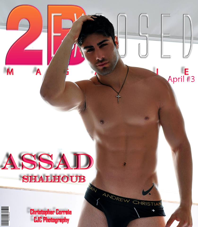 CJC Photography, Boston, internationally published, Assad Shalhoub, fitness model, 2BExposed Magazine