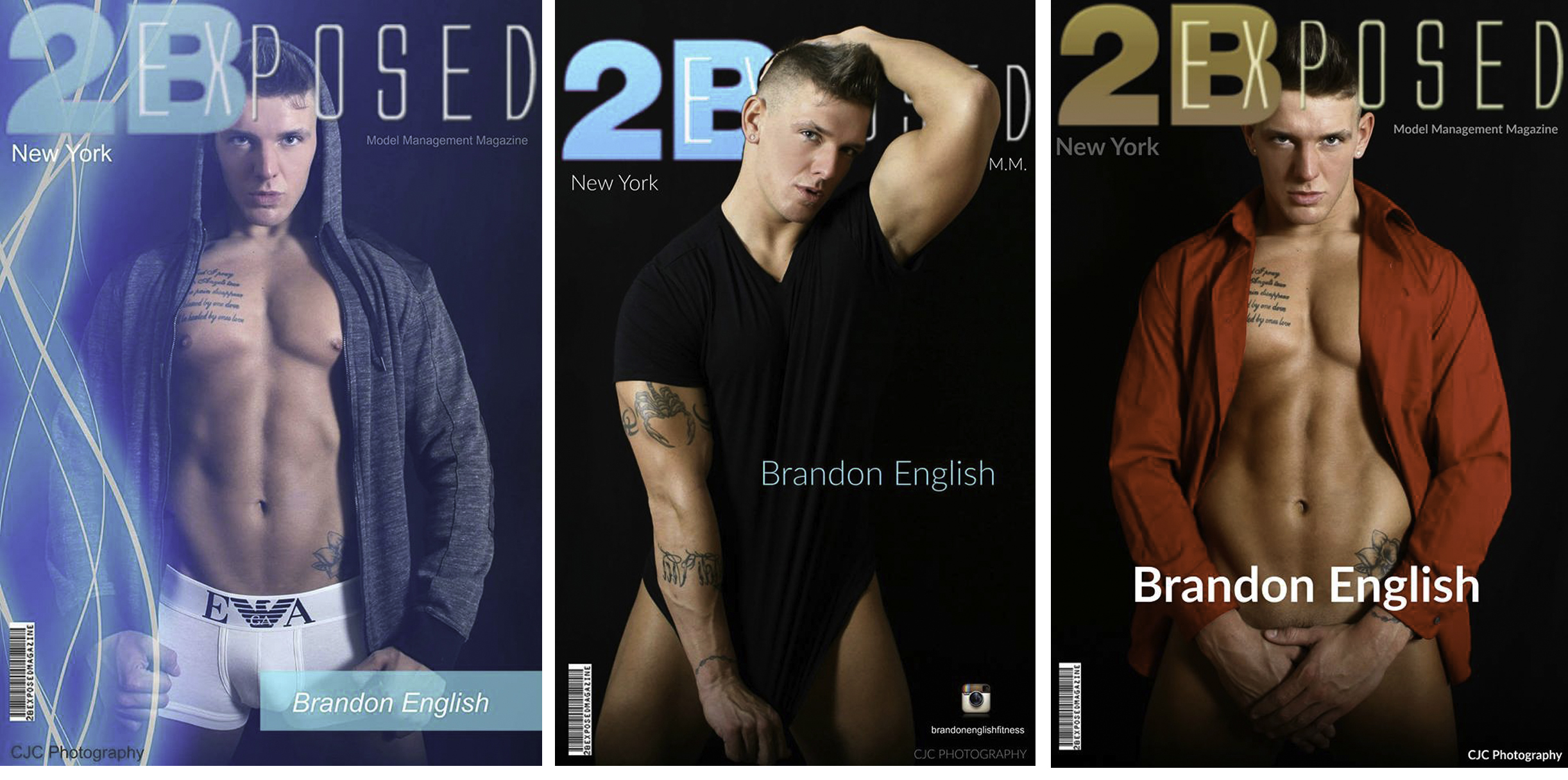 2BExposed Magazine, New York, Brandon English, CJC Photography, Boston, book cover photographer