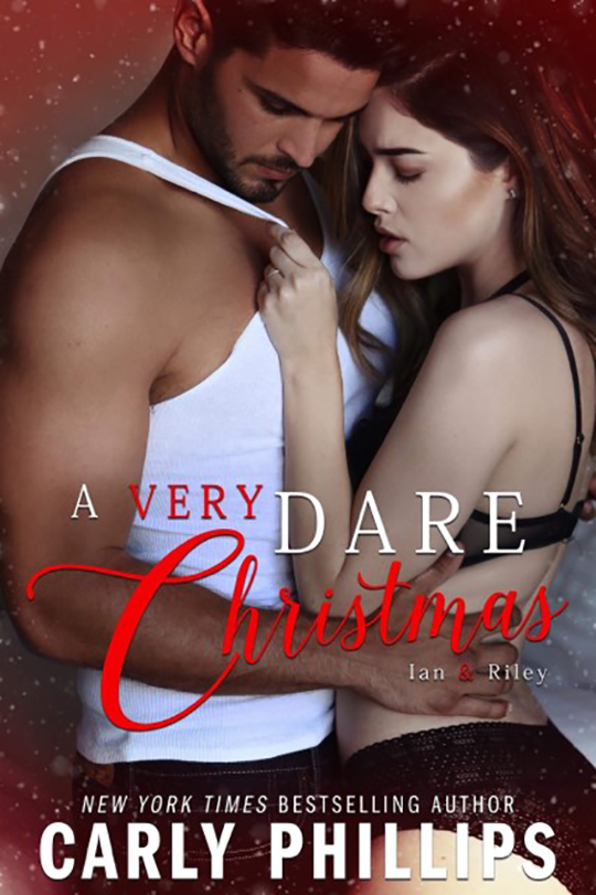 A Very Dare Christmas by Carly Phillips, New York Times Best Selling Author Carly Phillips, Daniel Rengering, Lauren Summer model, CJC Photography, Florida photographer, book cover photographer, romance book cover photographer