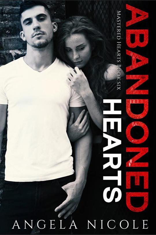 Abandoned Hearts by Angela Nicole, Angela Nicole romance author, CJC Photography book cover photographer