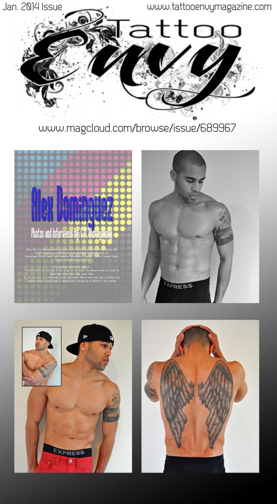 tattoo envy magazine, tattoos, cjc photography, boston
