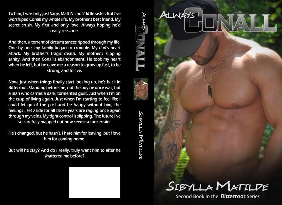 CJC Photography, Boston, Always Conall, Sibylla Matilde, Book cover photographer