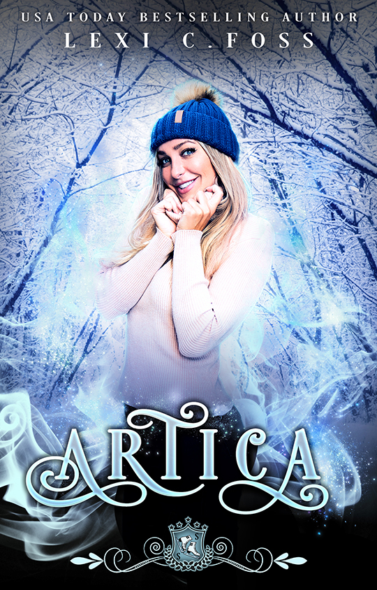 Artica by Lexi C. Foss, Lexi C. Foss best selling author, CJC Photography book cover photographer