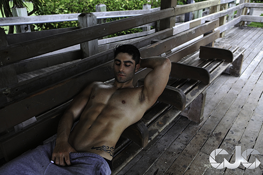 CJC Photography, Boston, book cover photographer, Assad Shalhoub, fitness model