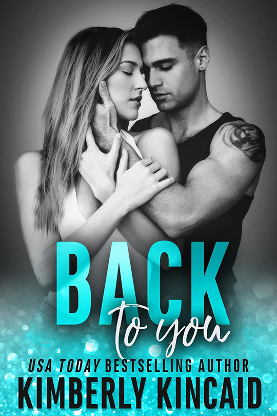 Back To You by Kimberly Kincaid, Kimberly Kincaid author, Jered Youngblood model
