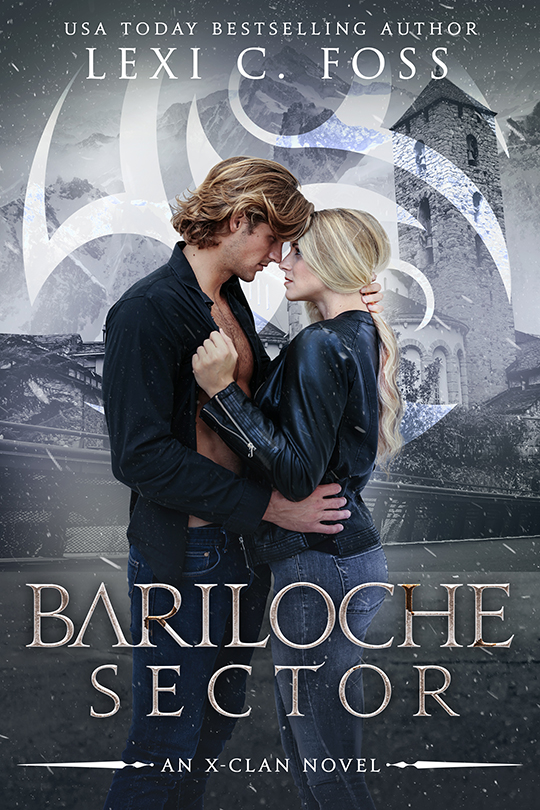 Bariloche Sector by Lexi C. Foss, Lexi C. Foss best selling author, Mason Kreidt model
