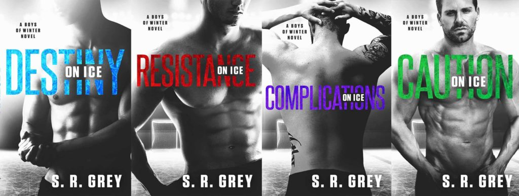 Boys of Winter series by S.R. Grey