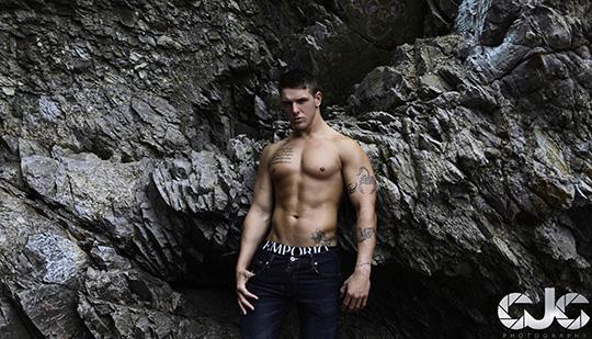 CJC Photography, Brandon English, fitness model, Boston photographer, book cover photographer, romance book cover photographer