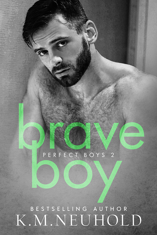 Brave Boy by K.M. Neuhold, Brock Grady model, K.M Neuhold author, CJC Photography book cover photographer