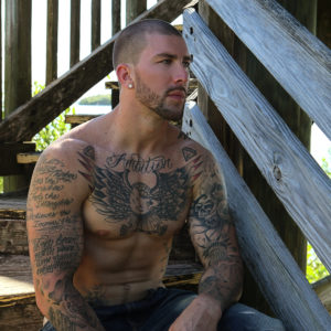 CJC Photography, Bryan Snell, Bryan Snell tattoo model, Boston photographer, florida, photographer, book cover photographer, romance book cover photographer