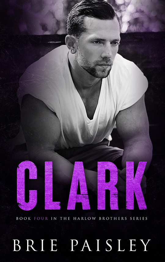 Clark by Brie Paisley, Brie Paisley author, Gideon Connelly model, CJC Photography book cover photographer