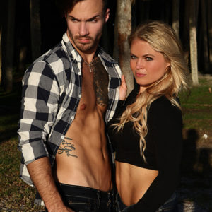 CJC Photography, Cody Smith model, Kristen Lazarus-Wood model, Florida photographer, book cover photographer, romance book cover photographer