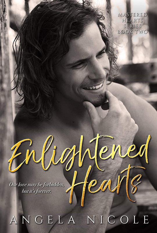 Enlightened Hearts by Angela Nicole, Angela Nicole author, CJC Photography, Florida photographer, book cover photographer, romance book cover photographer