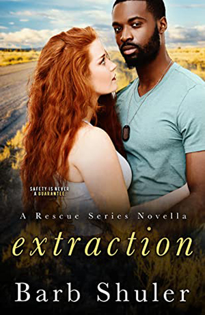 Extraction by Barb Shuler, Barb Shuler romance author, Jackie Coleman model, CJC Photography book cover photographer