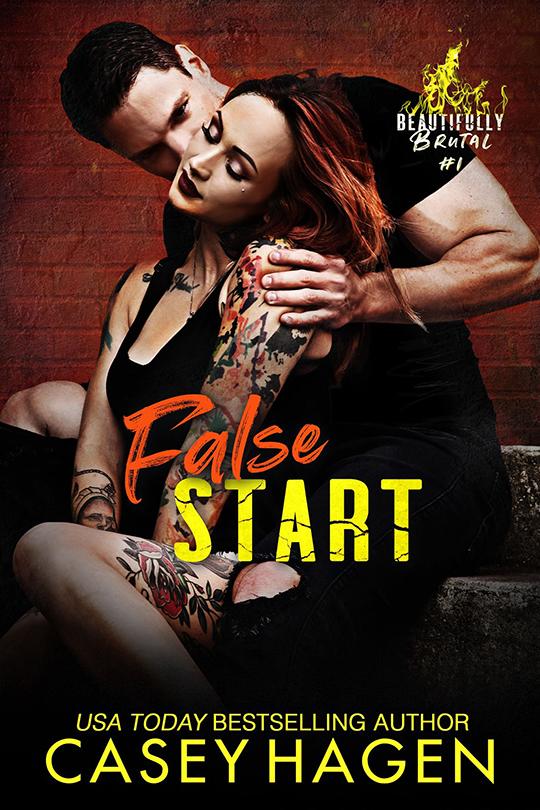 False Start by Casey Hagen, Casey Hagen romance author, David Wills model, Riley Rebecca model