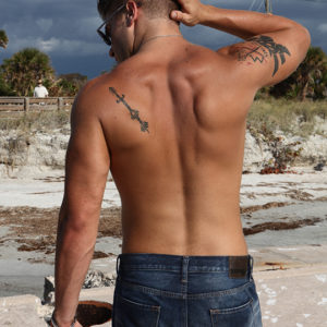 CJC Photography, Gus Caleb Smyrnios model, Florida photographer, book cover photographer, romance book cover photographer