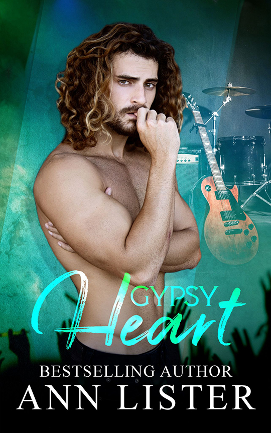 Gypsy Heart by Ann Lister, Ann Lister romance author, CJC Photography book cover photographer
