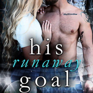 His Runaway Goal by Angela Nicole, Angela Nicole romance author, Jered Youngblood model