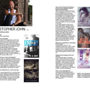 Huf Magazine , CJC Photography,Florida photographer, book cover photographer, romance book cover photographer