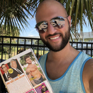 In Touch Weekly Magazine, Gus Caleb Smyrnios model, CJC Photography, Florida photographer, book cover photographer, romance book cover photographer
