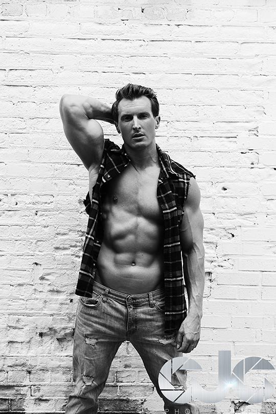 CJC Photography, Jeff Grant fitness model, Florida photographer, book cover photographer, romance book cover photographer