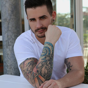 CJC Photography, Josh McCann, Josh McCann tattoo model, Florida photographer,  book cover photographer, romance book cover photographer