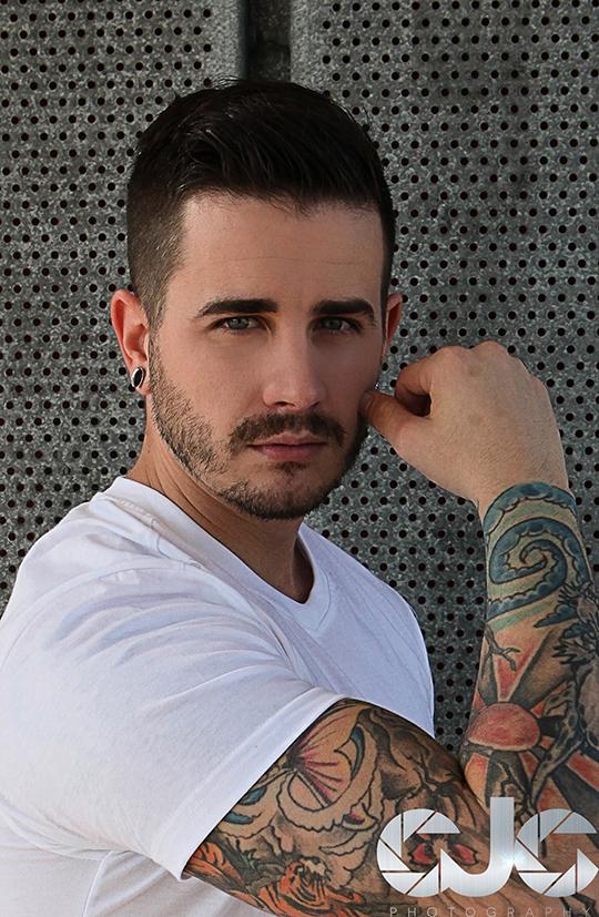 CJC Photography,Josh McCann, Josh McCann tattoo model, Florida photographer, book cover photographer, romance book cover photographer