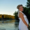 Female Portraits: Maternity, Ames Pond, CJC Photography