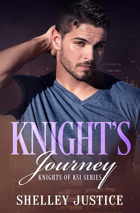 Knight's Journey by Shelley Justice, Shelley Justice author, Dan Rengering model