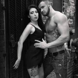 CJC Photography, Kristen Hope Mazzola model, Alex Neff model, Florida photographer, book cover photographer, romance book cover photographer