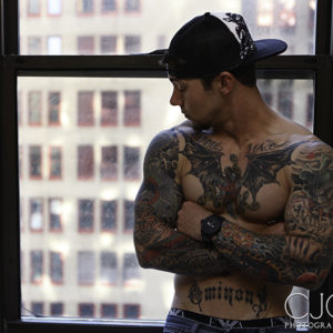 CJC Photography, Boston, book cover photographer, Lance Jones, tattoo model