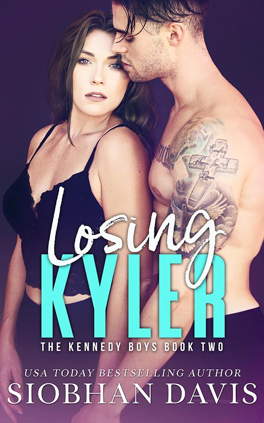Losing Kyler by Siobhan Davis, Siobhan Davis romance author, Eric Taylor Guilmette model