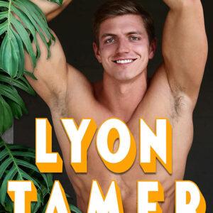 Lyon Tamer by Jen Luerssen, Jen Luerssen author, Keith Manecke model, CJC Photography book cover photographer