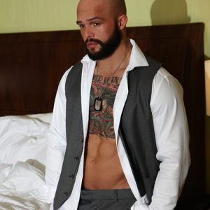 CJC Photography, Matthew Hosea model, Matthew Hosea inked model, Florida photographer, book cover photographer, romance book cover photographer