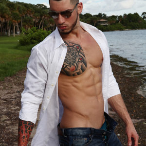 CJC Photography, Mike Diaz model, Florida photographer, book cover photographer, romance book cover photographer