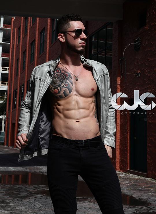 CJC Photography, Mike Diaz model, Florida photographer, book cover photographer, romance book cover photographer