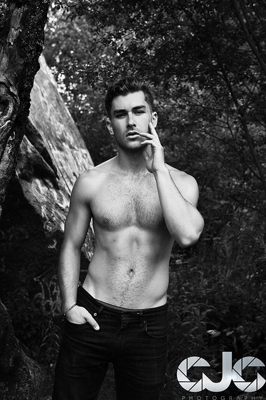 CJC Photography, Miles Tann Model, Florida photographer, book cover photographer, romance book cover photographer