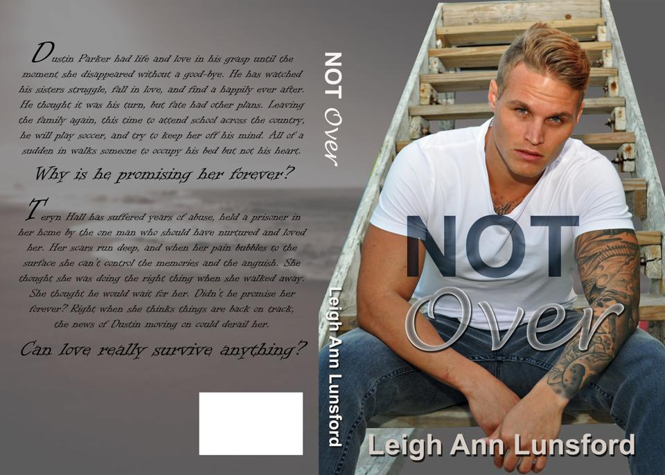 "CJC Photography, Boston, ""Not Over"" Leigh Ann Lunsford, book cover photographer"