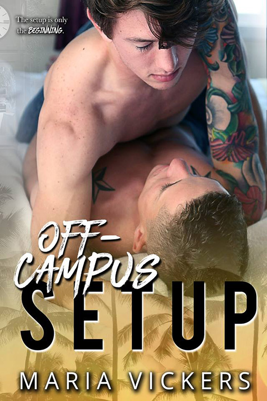 Off Campus Set Up by Maria Vickers, Maria Vickers author, Cody Grigsby model, CJC Photography, Florida photographer, book cover photographer, romance book cover photographer