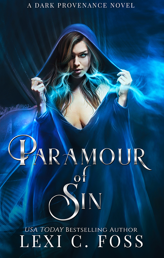 Paramour of Sin by Lexi C. Foss, Lexi C. Foss author, Lauren Summer model