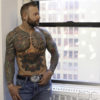 CJC Photography, Boston, book cover photographer, Paul Blake, Tattoo Model, Arizona