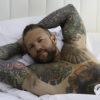 CJC Photography, Boston, book cover photographer, Paul Blake, tattoo model