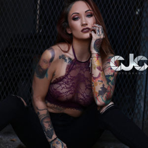 CJC Photography, tattoo model, Florida photographer, book cover photographer, romance book cover photographer