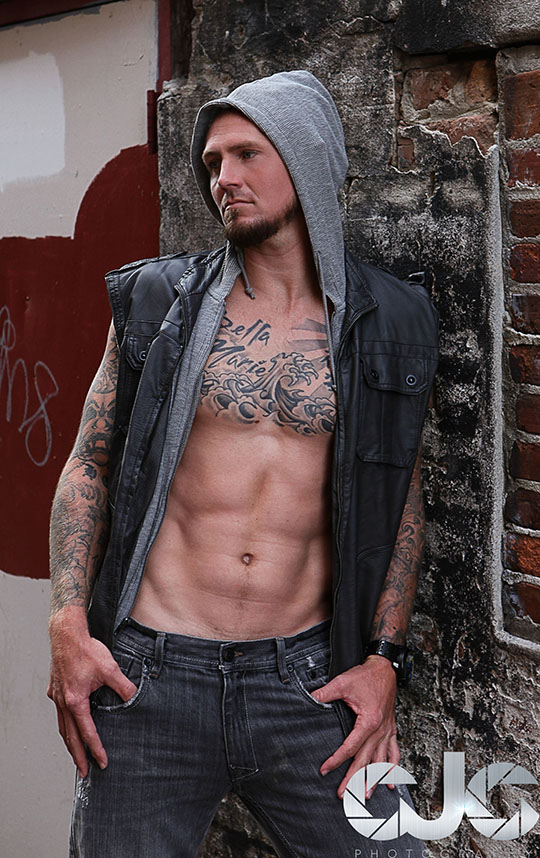 CJC Photography, Robbie Gambrell, Robbie Gambrell tattoo model, Florida photographer,  book cover photographer, romance book cover photographer