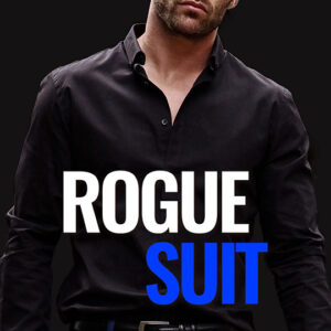 Rogue Suit by Crystal Perkins, Crystal Perkins romance author, Ashley Gibson model