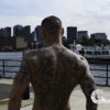 CJC Photography, Boston, book cover photographer, tattoo model, fitness model