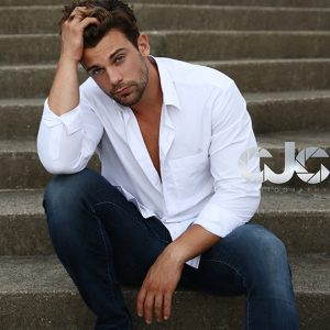 CJC Photography, Sean Brady model, Florida photographer, book cover photographer, romance book cover photographer