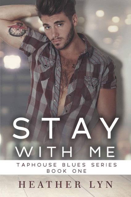 Stay With Me by Heather Lyn, Heather Lyn author, Gus Caleb Smyrnios model